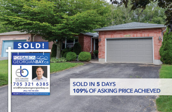SOLD! 1029 Dina Crescent, Midland, ON