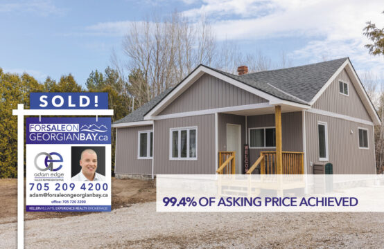 SOLD! 107 County Road 6 South, Tiny Township, ON