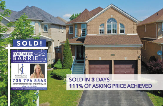 SOLD! 18 Parisian Crescent, Barrie, ON
