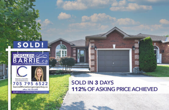 SOLD! 29 Sheila Way, Barrie, ON