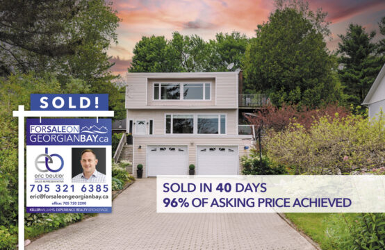 SOLD! 602 Champlain Road, Tiny Township, ON
