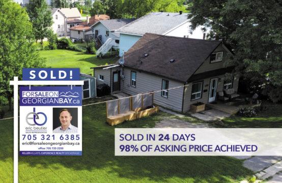 SOLD! 680 Ontario Street, Midland, ON