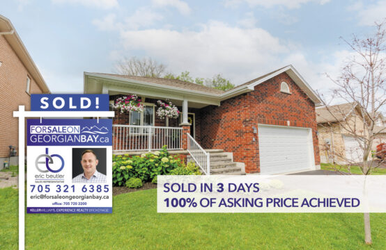 SOLD! 8 Sheppard Drive, Victoria Harbour, ON