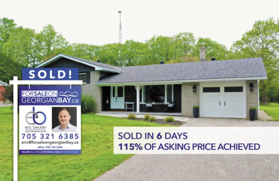SOLD! 33 Beaufort Crescent, Tiny Township, ON