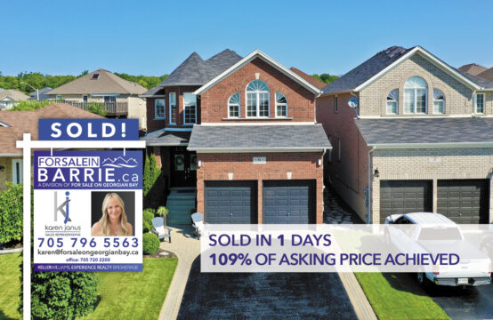 SOLD! 6 Parisian Crescent, Barrie, ON