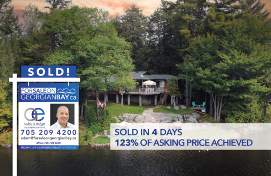 SOLD! 1075 Strachan Point Road, Bala, ON
