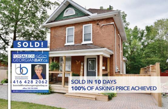 SOLD! 343 Hugel Avenue, Midland, ON